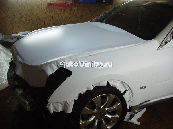 купить в москве пленку белый мат для авто Пусть владельцы