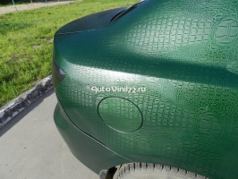 винил аллигатор зеленый