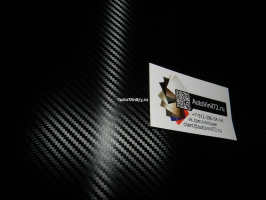 3D карбон премиум черный