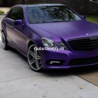 матовый хром фиолет