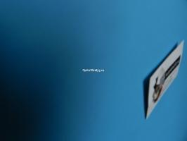 Экокожа голубая