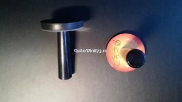 Прорезиненные магниты для винила