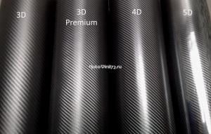 4D карбон Черный
